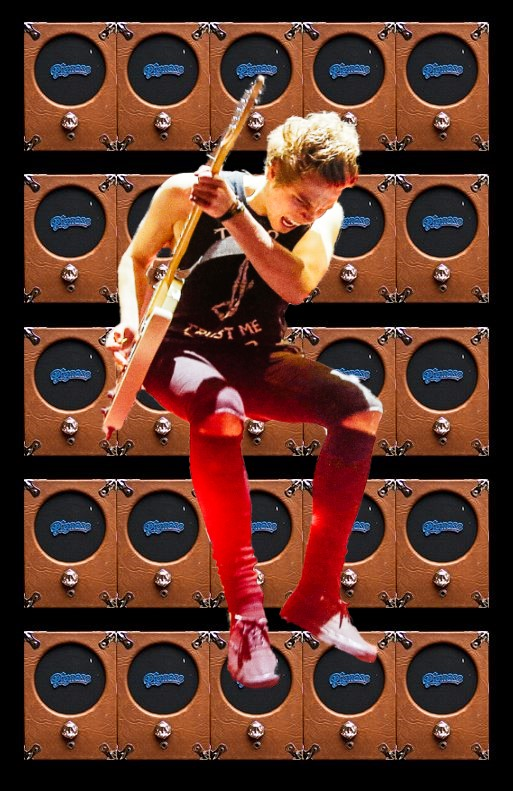 How Many Guitar Amps Do You Own?-wall-pignoses-rocker-jpg