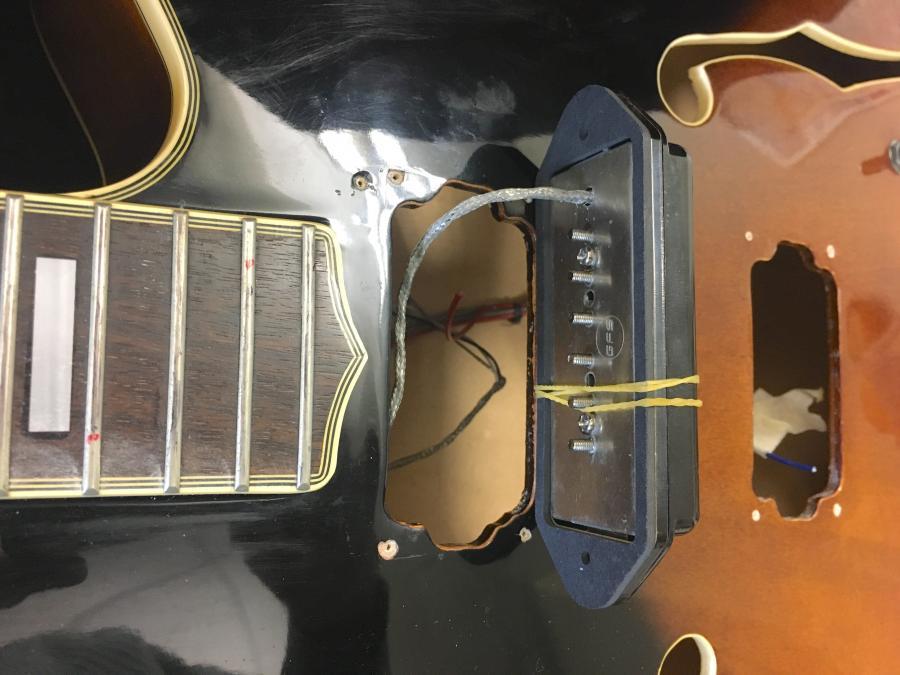 Install P90 Dogear on Gibson ES-175-img_5631-jpg