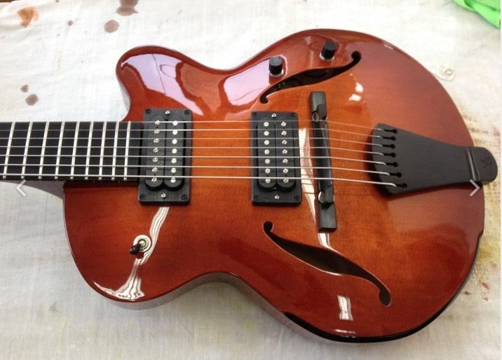 """Best"" Small Jazz Guitar (Archtop)-victor-baker-model-14-jpg"
