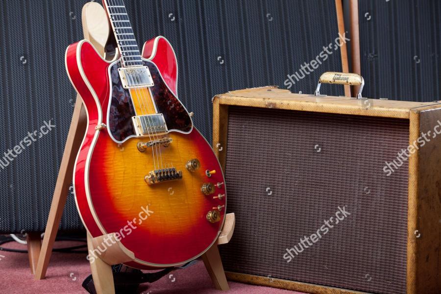 Vintage Gibson L-4 Advice-various-shutterstock-editorial-2605154r-jpg