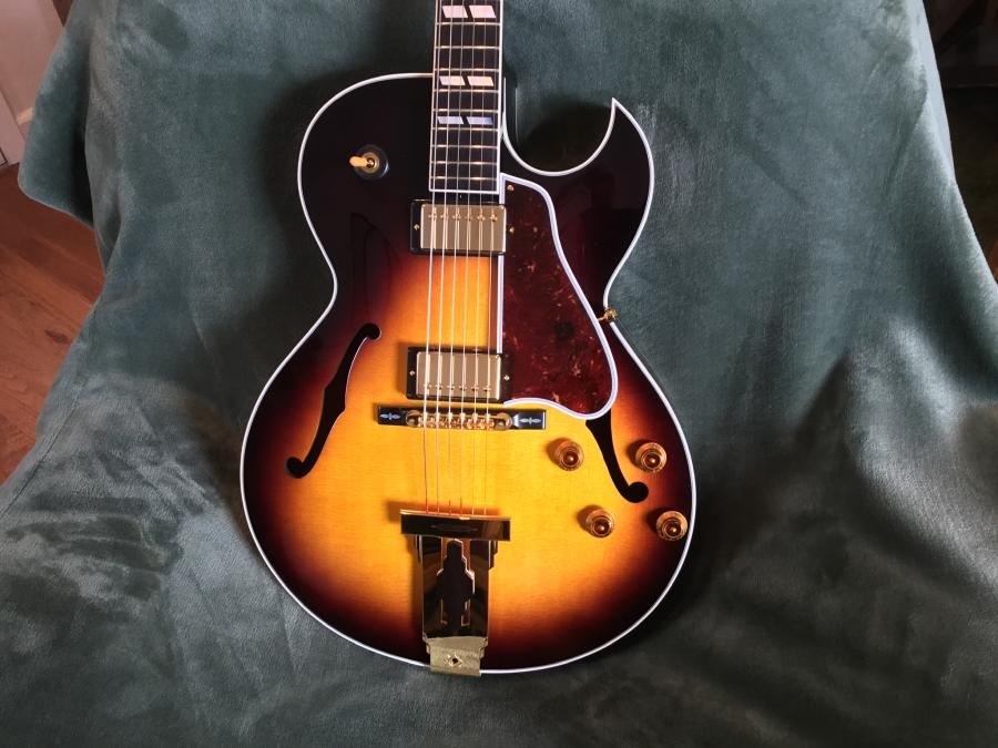 Maple Laminate Back and Sides on 1999 Gibson L-4 CES-bbcdc533-b0ca-44c4-80e8-aca712a5dc09-jpg