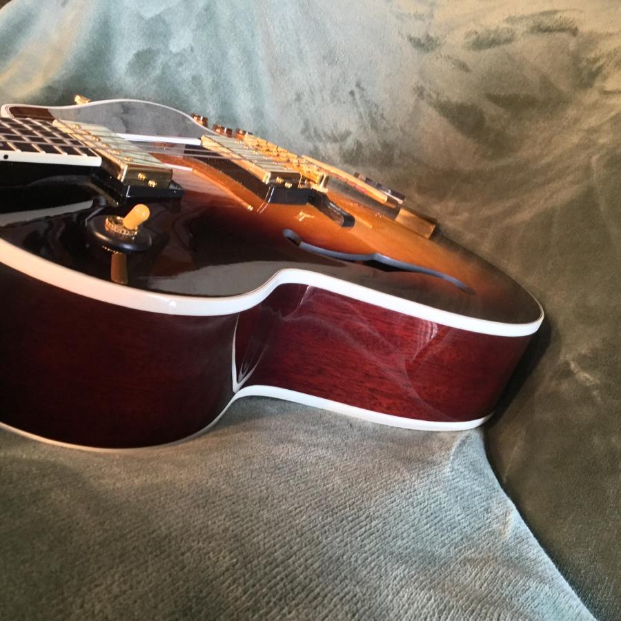 Maple Laminate Back and Sides on 1999 Gibson L-4 CES-b08ea3ef-3fe0-4bda-9f18-d44baa711b42-jpg