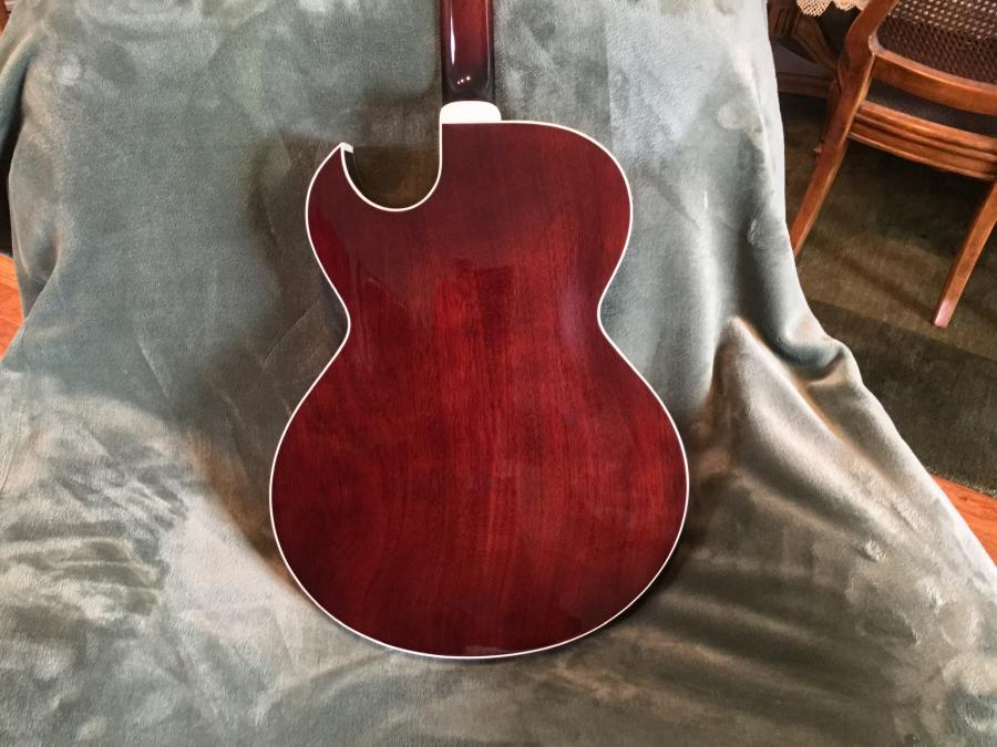 Maple Laminate Back and Sides on 1999 Gibson L-4 CES-7382b30a-c7cf-4055-8346-6eb0595b0bb8-jpg