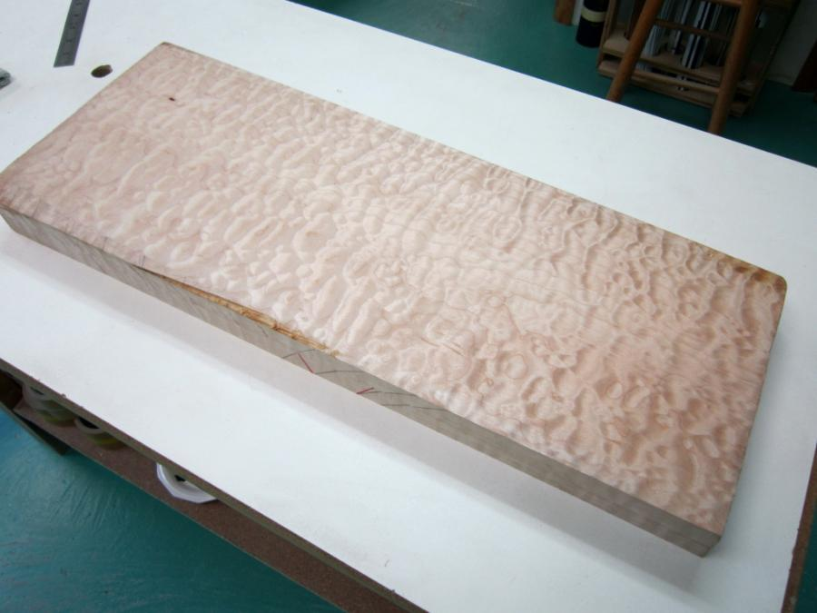 The new CAMPELLONE V1K model begins-img_0611_1-quilted-maple-jpg