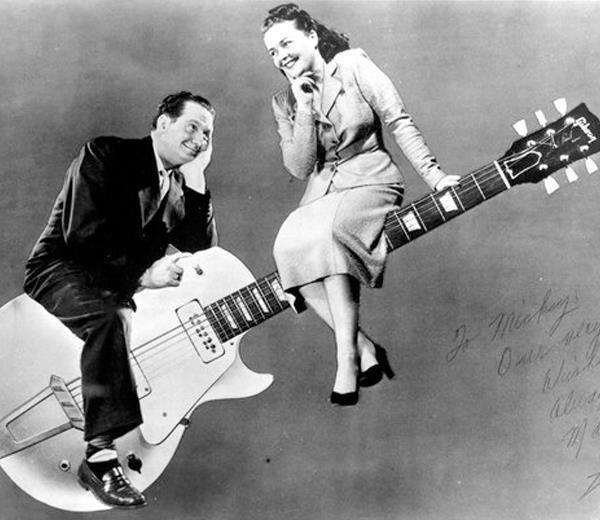 Awesome Les Paul and Mary Ford wanking around-les-mary-naughty-jpg