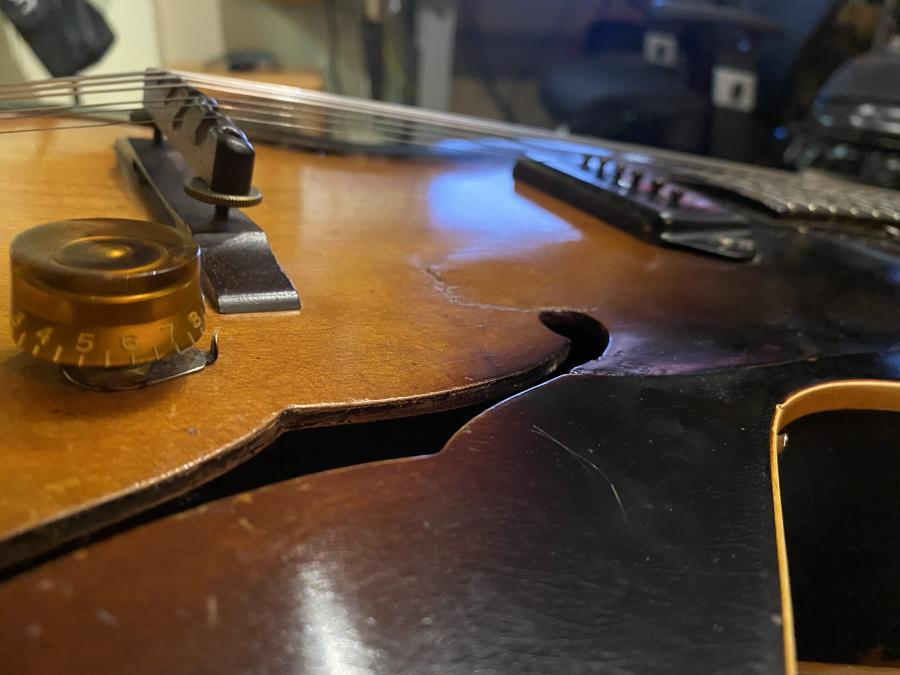 1956 ES 125 Ordered from online store - Has repaired sunken top...Input-img_0605-jpg
