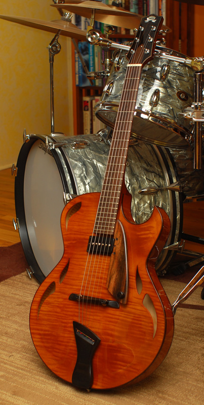 """Odd question - electric archtops with """"thin"""" f-holes?-holst-orange-ish-jpg"""