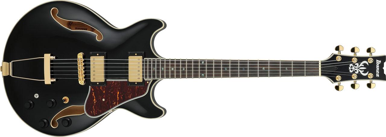 Choosing a Semi-hollow jazz guitar-ibanez-artcore-expressionist-amh90-bk-black-jpg