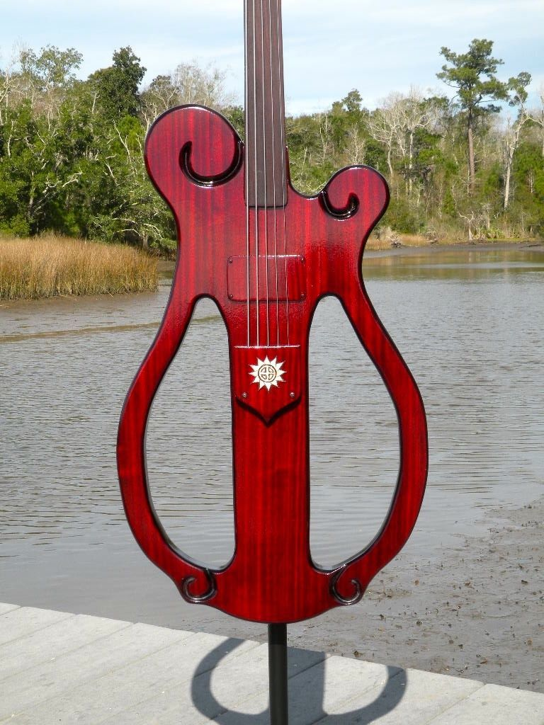 Electric upright bass for fun-bayou4-jpg