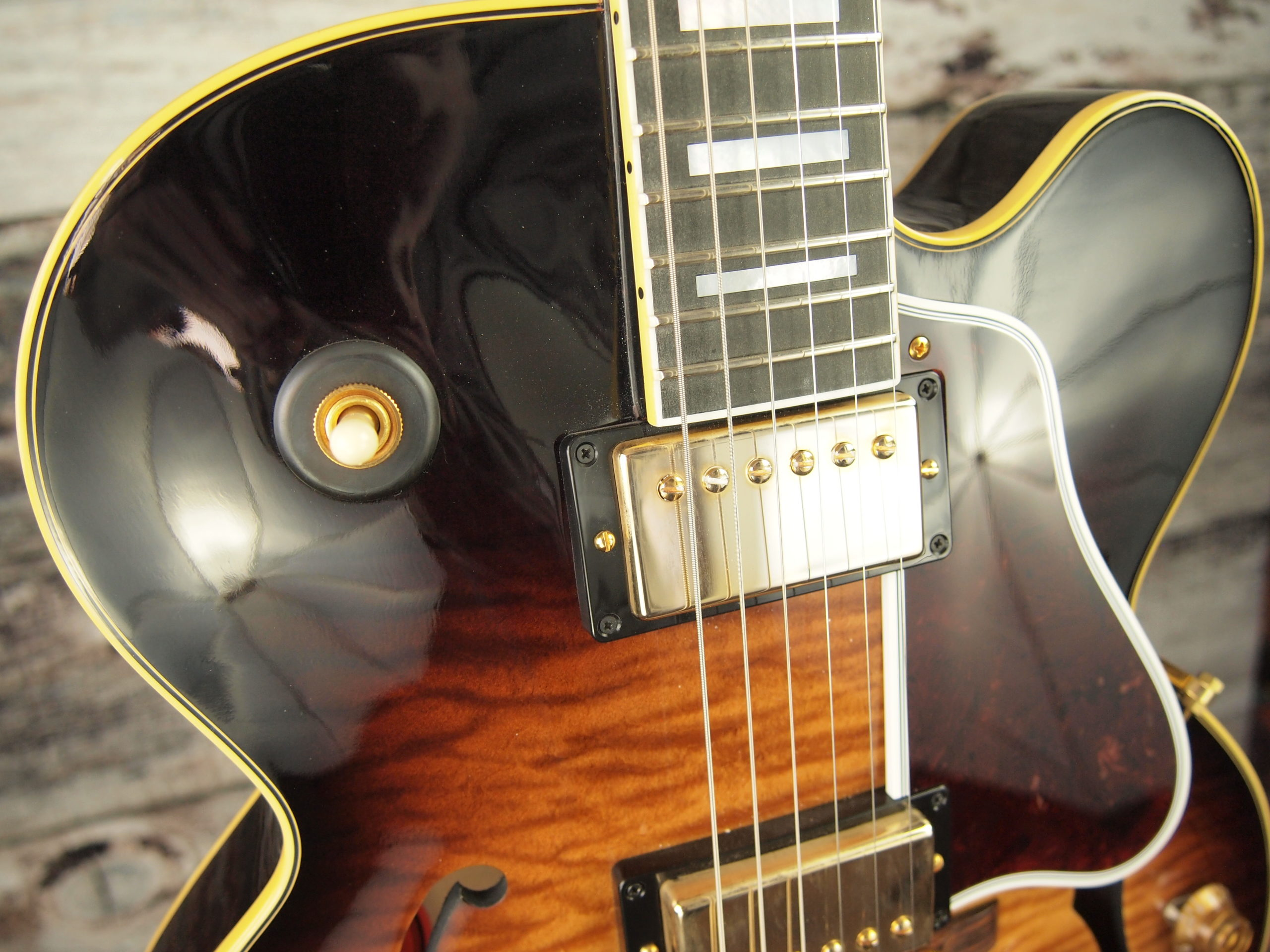 My archtop search might be over. Warning: controversial opinions within-2015-gibson-es275f-prototype-3-scaled-jpg
