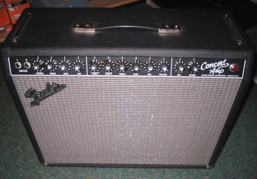 Fender Concert Series II Amplifer Rivera era 1982-1987 Thoughts/Experiences  ?
