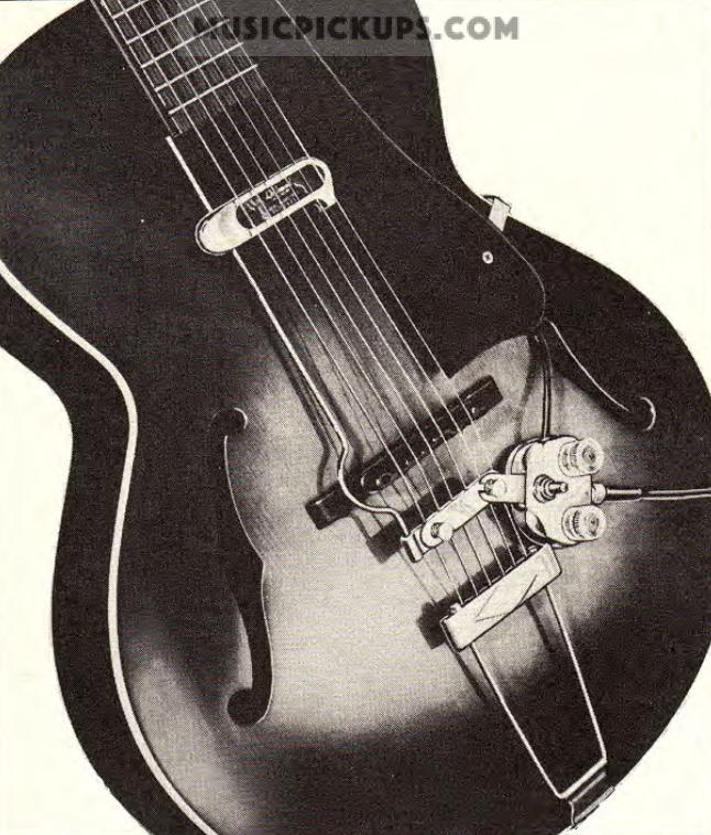 DeArmond Volume + Tone control box alternative-model-1000-rhythm-chief-oahu-catl-oct-1948-png