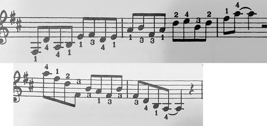 "Using ""rolling"" (flat fingers) technique on adjacent note runs a la Ted Greene?-ted-greene-jpg"