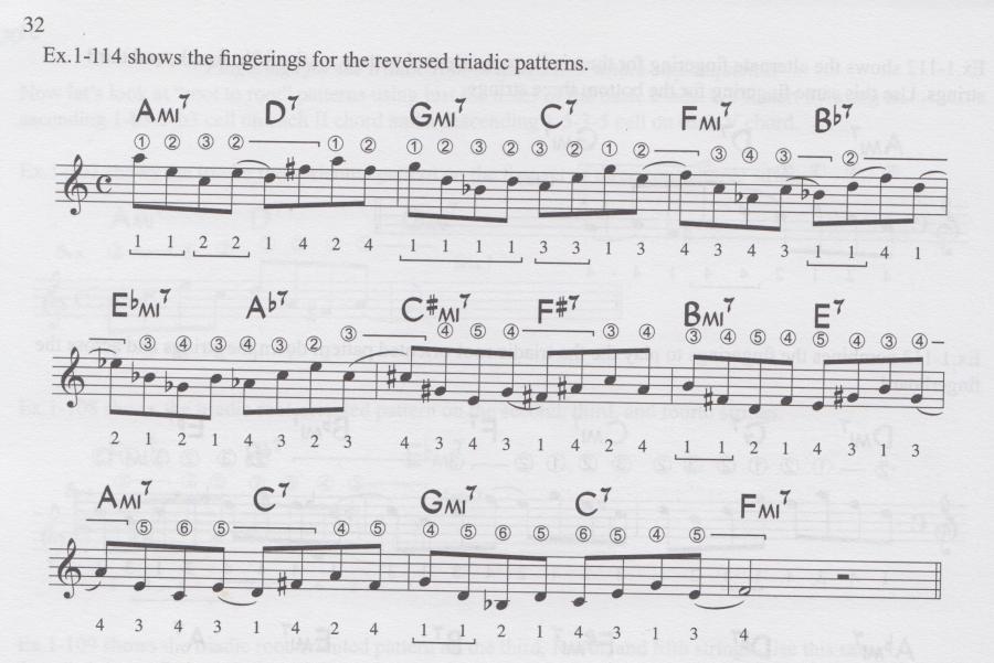 "Using ""rolling"" (flat fingers) technique on adjacent note runs a la Ted Greene?-rv-jpg"