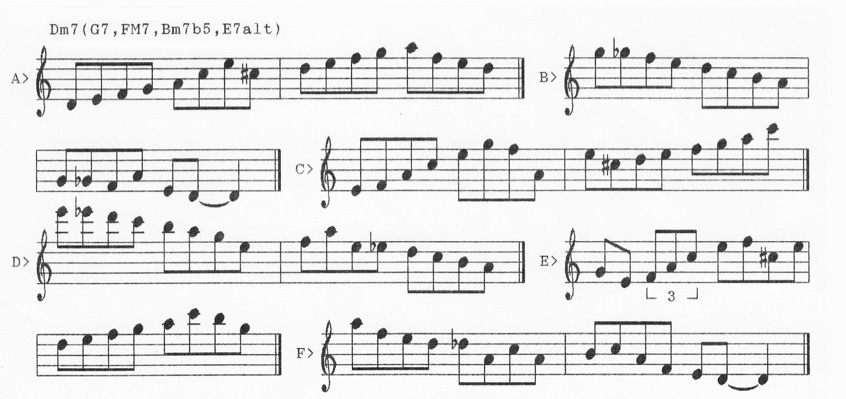Linear Expressions by Pat Martino-minorlines-jpg