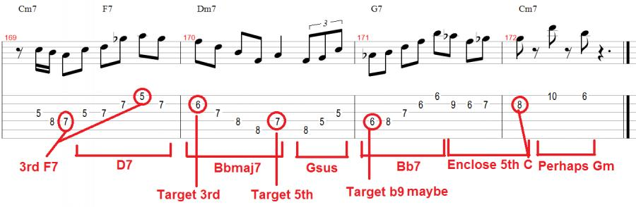 Chord Tones On The Down Beat Page 3