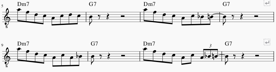Fewell's Melodic Approach - Ch. 8 (Using Guide Tones in Soloing)-fewell-guide-tone-png