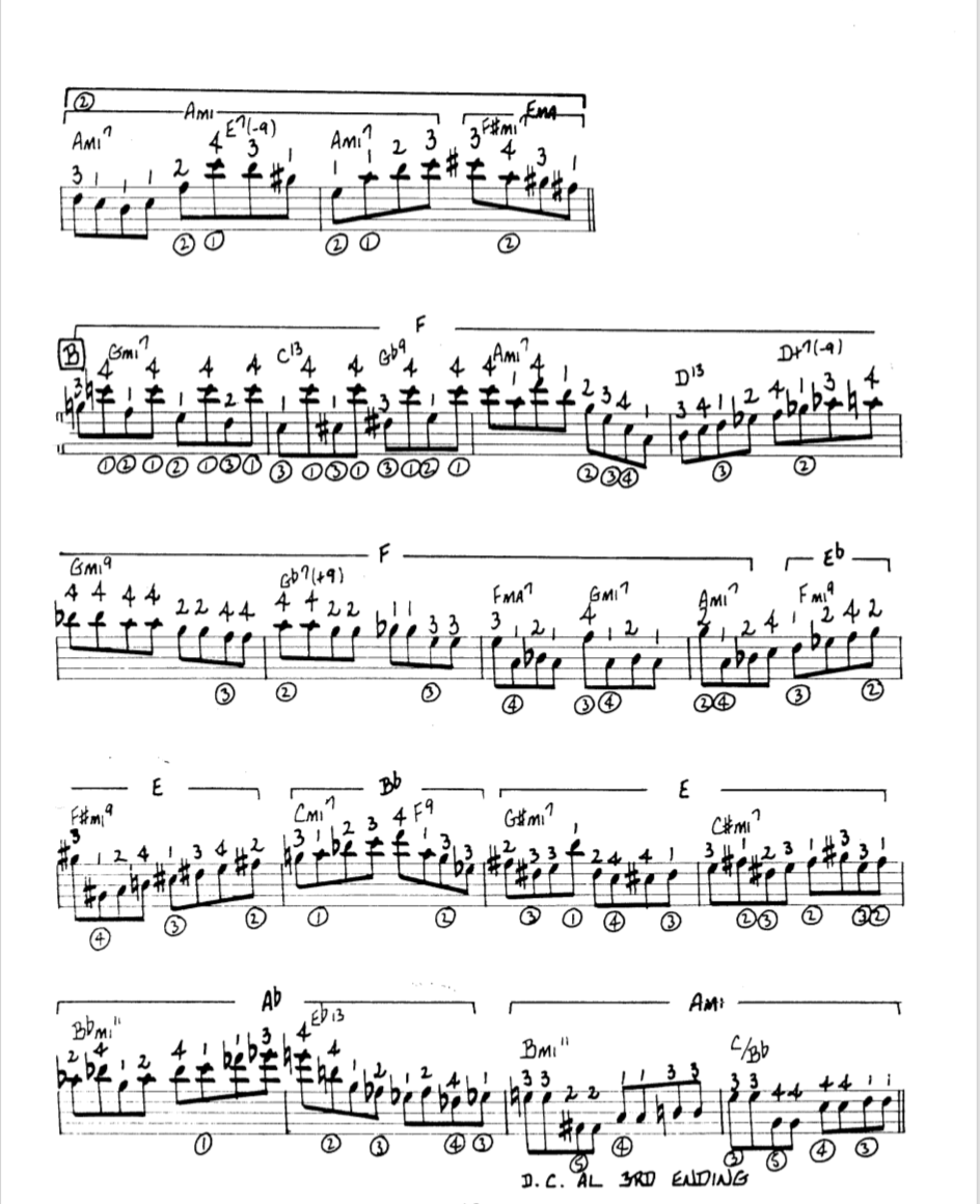 Howard Roberts Super Chops: study group for a tune based practice routine-screen-shot-2021-01-12-7-14-55-pm-png