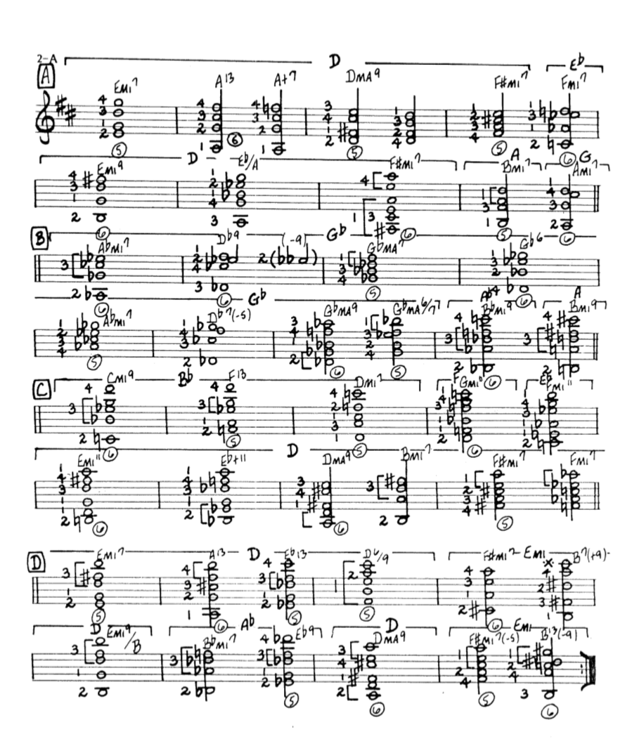 Howard Roberts Super Chops: study group for a tune based practice routine-screen-shot-2021-01-19-7-53-44-pm-png