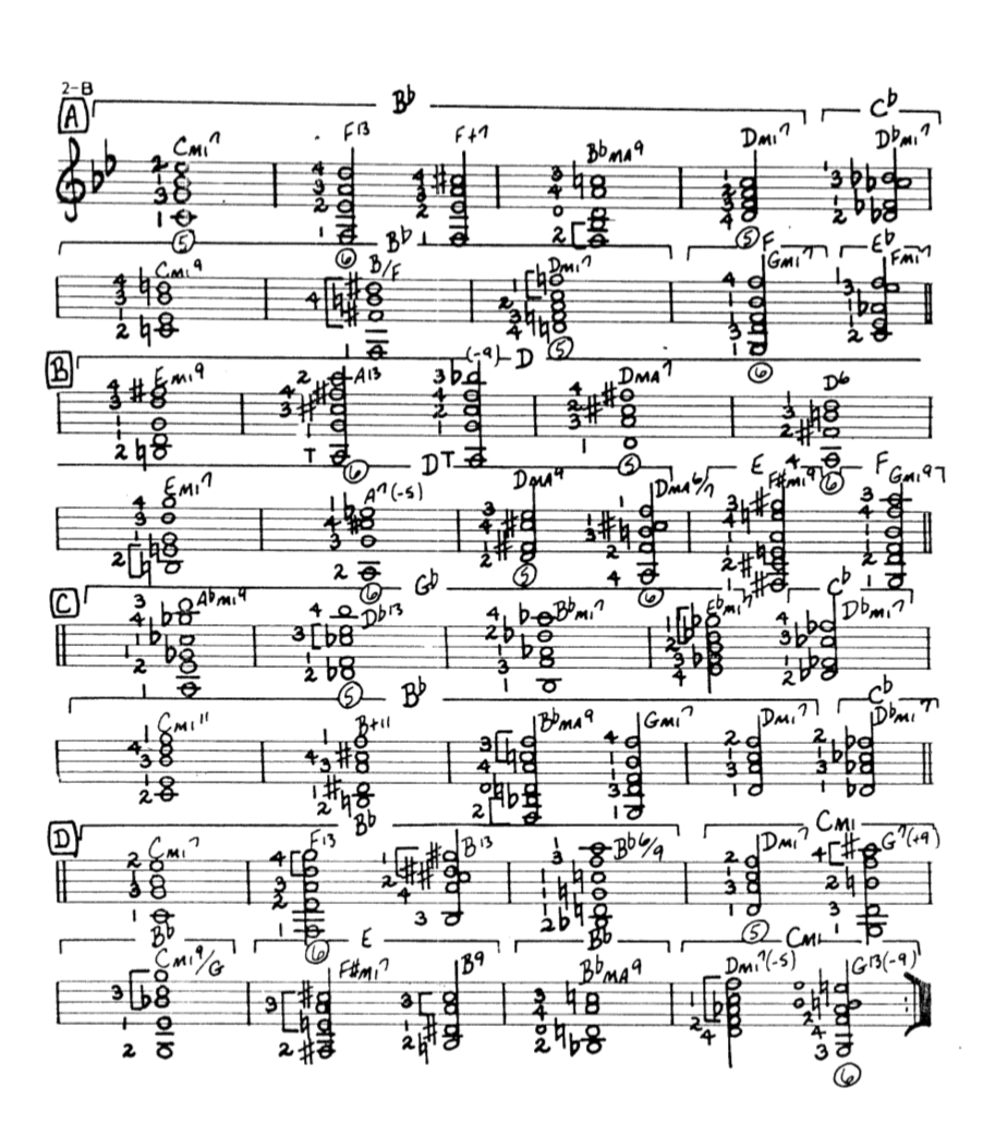 Howard Roberts Super Chops: study group for a tune based practice routine-screen-shot-2021-01-20-9-43-37-pm-png