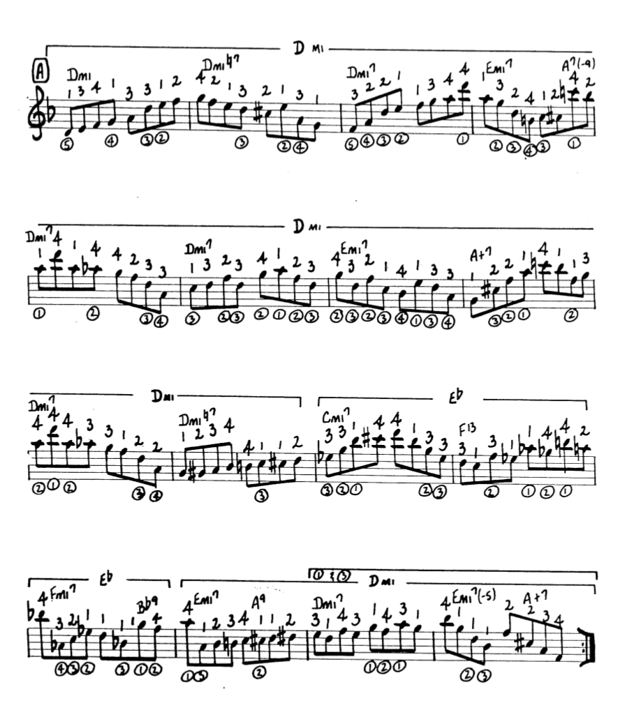 Howard Roberts Super Chops: study group for a tune based practice routine-screen-shot-2021-01-21-8-28-55-pm-png