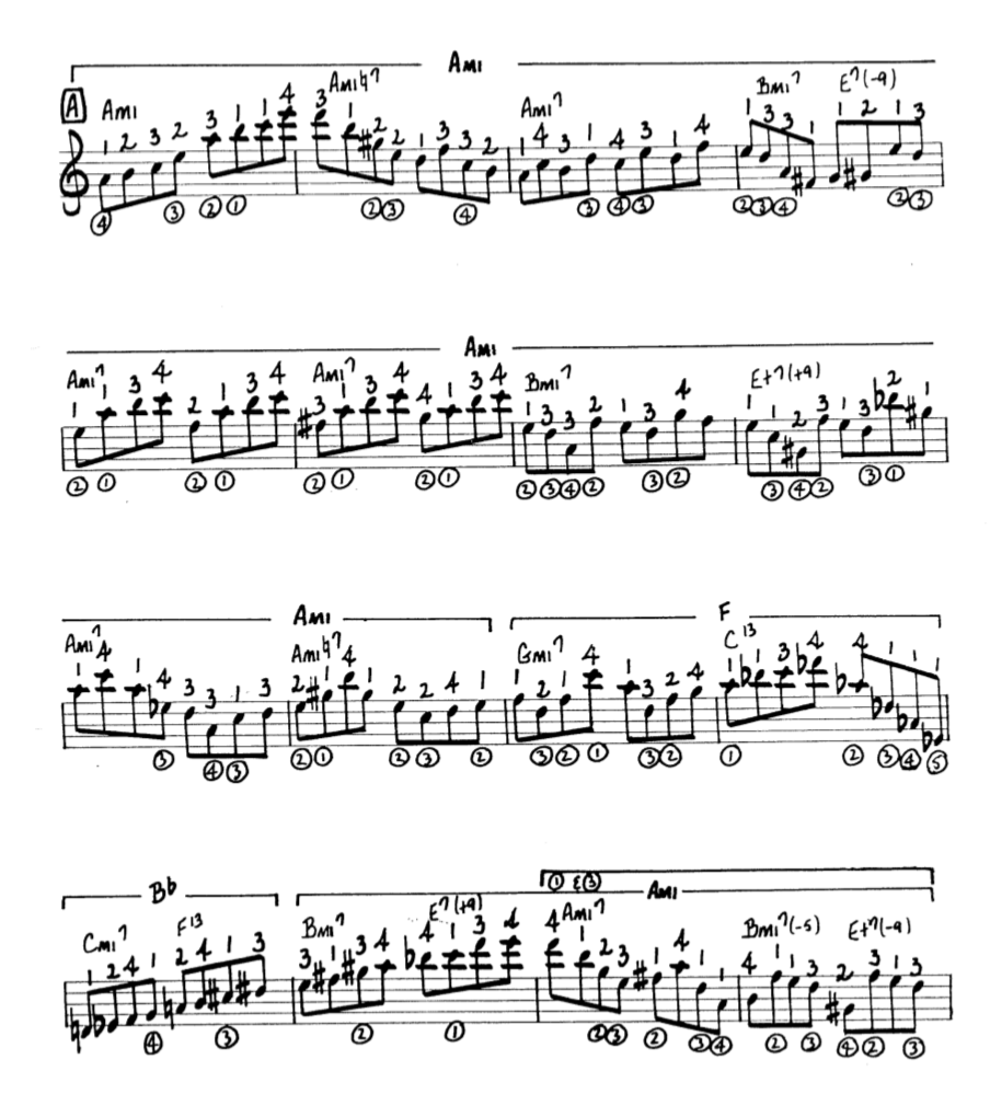 Howard Roberts Super Chops: study group for a tune based practice routine-screen-shot-2021-01-22-10-44-53-pm-png