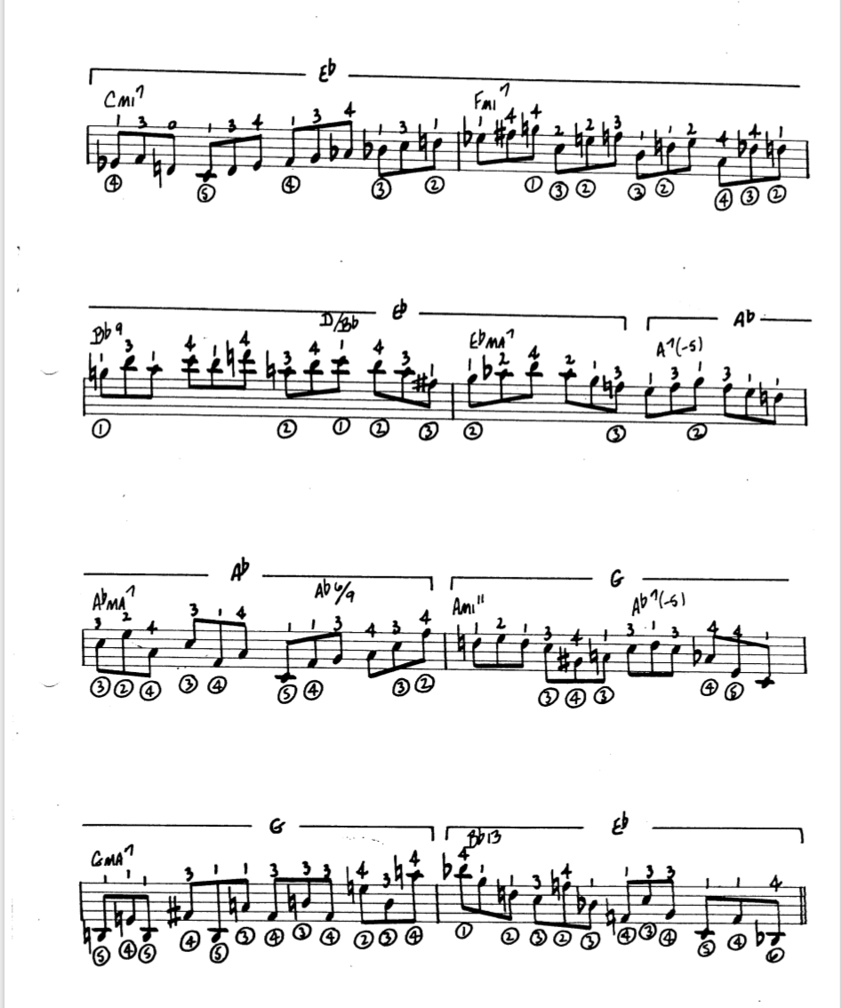Howard Roberts Super Chops: study group for a tune based practice routine-screen-shot-2021-01-24-6-49-31-pm-png