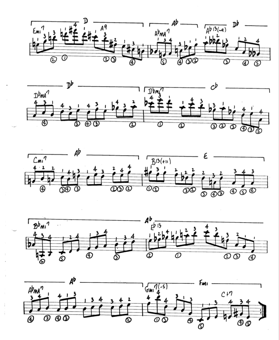 Howard Roberts Super Chops: study group for a tune based practice routine-screen-shot-2021-01-24-6-49-57-pm-png