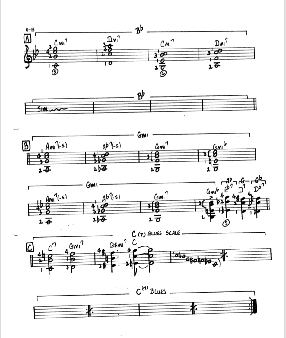 Howard Roberts Super Chops: study group for a tune based practice routine-screen-shot-2021-02-28-4-40-55-pm-png