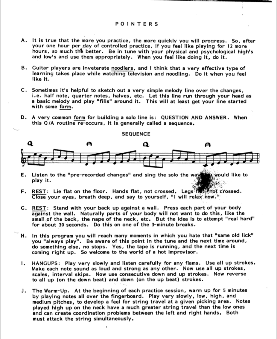 Howard Roberts Super Chops: study group for a tune based practice routine-screen-shot-2021-04-22-1-55-36-pm-png