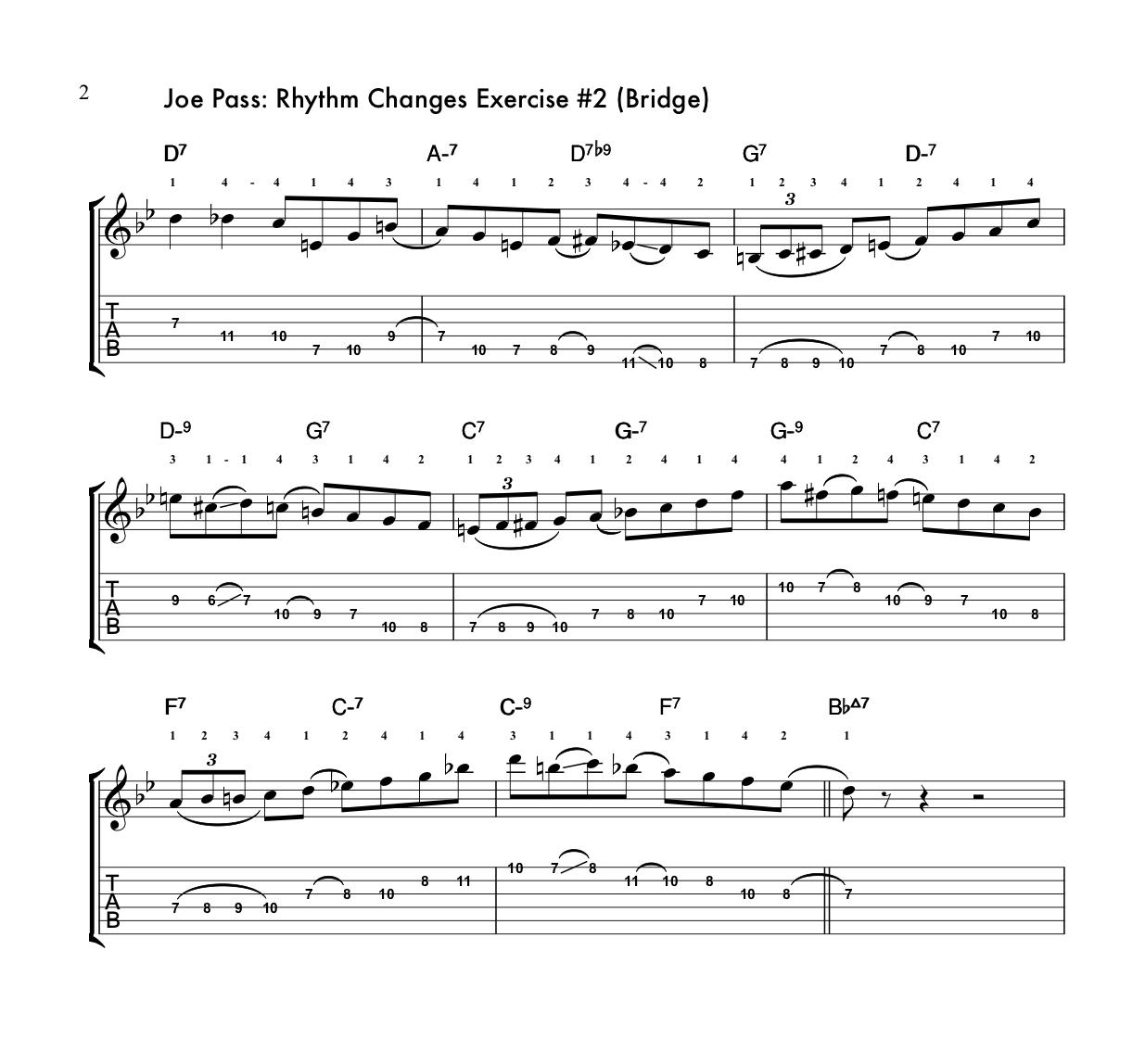 Joe Pass Guitar Style Rhythm Changes Solo #2-jp_rhythmchangesbridge-2-jpg