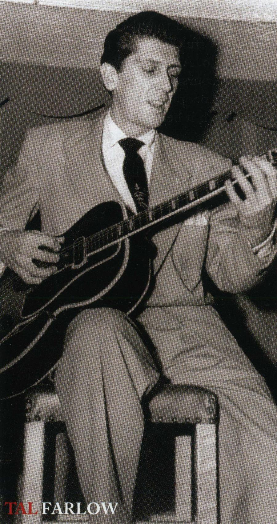 Young Tal Farlow with a ES 150 Charlie Christian like guitar-booklet3-jpg