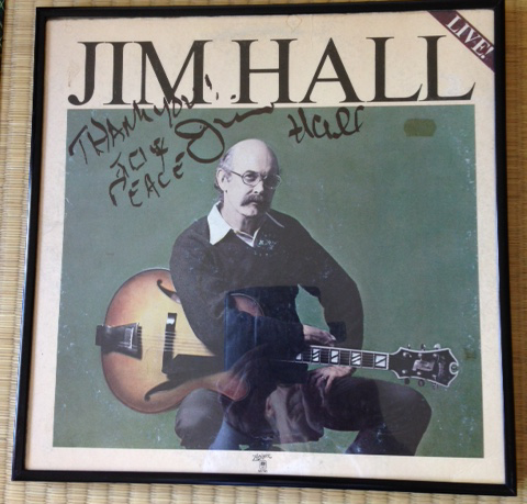 Happy Birthday Jim Hall - So What's Your Favorite JH Album?-jim-hall-signed-lp-png