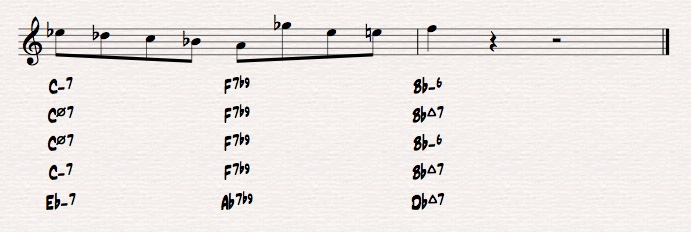 How to play over fast 251 chord progressions?-short-ii-v-i-jpeg