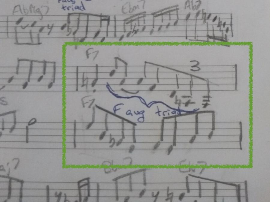 Lee Morgan's use of the augmented triad on Ceora-img_20200401_172527520-jpg