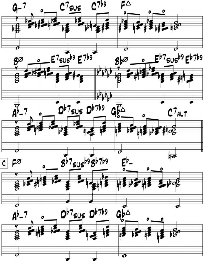 The Jazz Theory Book by Mark Levine-you-must-believe-block-chords_0002-jpg