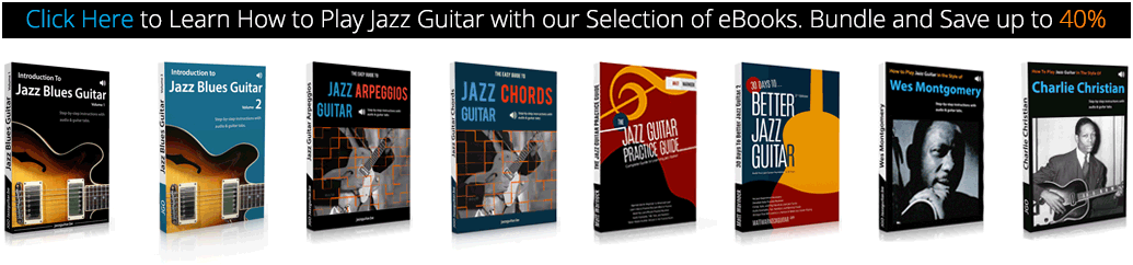 Learn how to play jazz guitar with our eBook bundle