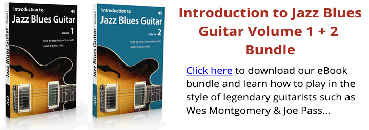 Introduction to Jazz Blues Guitar Volume 1 + 2