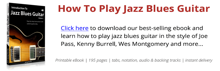 Jazz Blues Guitar Chords Comping Exercise For A Blues In G