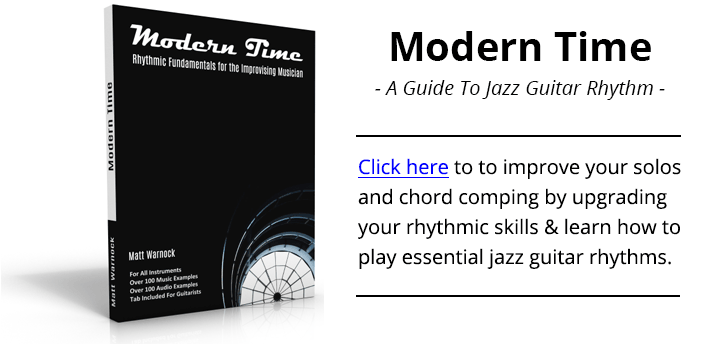 Modern Time - A Guide To Jazz Guitar Rhythm