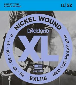 D'addario EXL116 jazz guitar strings
