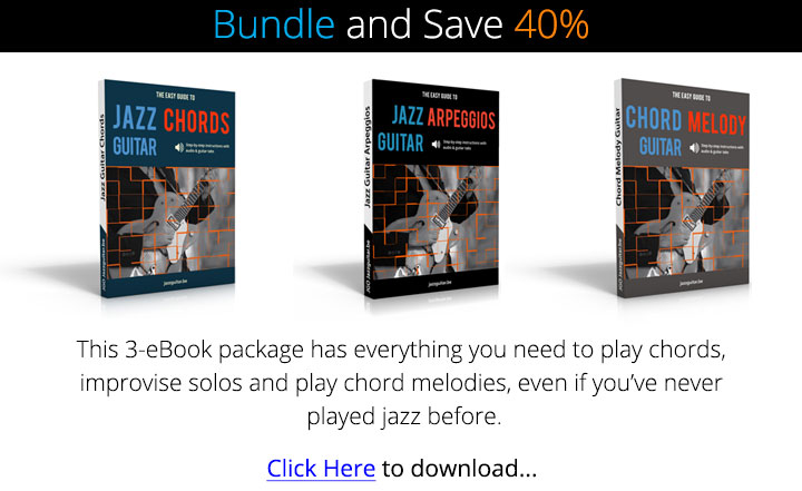 The Easy Guide to Jazz Guitar eBook Bundle
