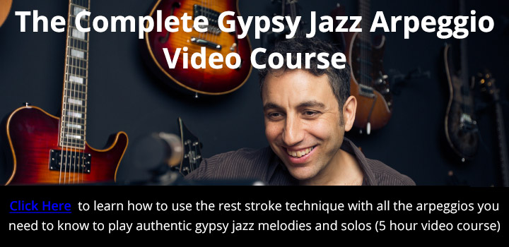 The Complete Gypsy Jazz Arpeggio Video Course