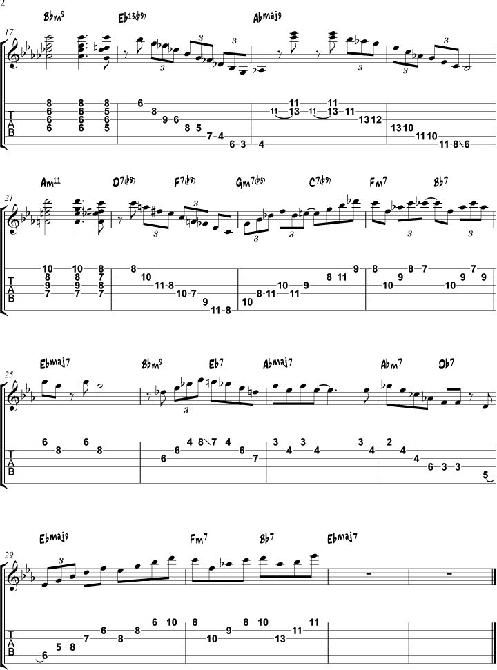 Jazz Standards Songs and Instrumentals Contents