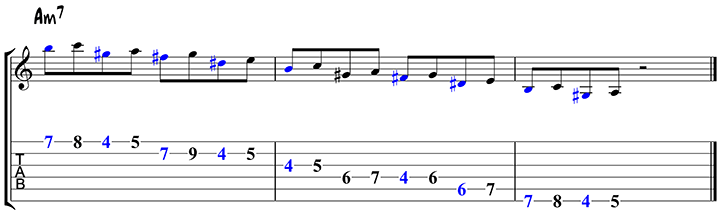 Arpeggio approach notes 2