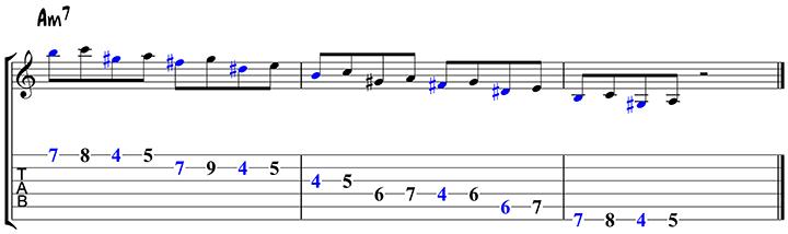 Arpeggio approach notes 2