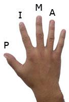 Right hand fingering