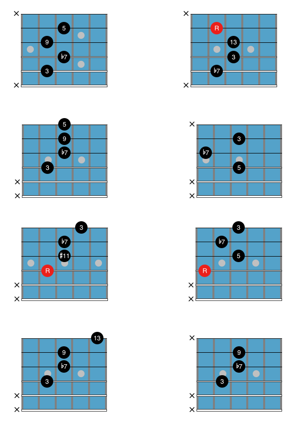 Wes Montgomery Chord Solos Example 5