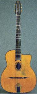 Django Reinhardt's Selmer Guitar