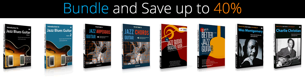 Jazz Guitar eBook Bundles